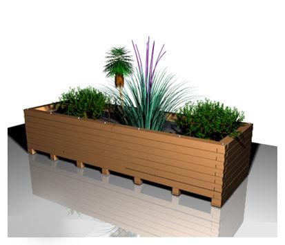 jardini re d 39 ext rieur pour terrasse r f ja001pin